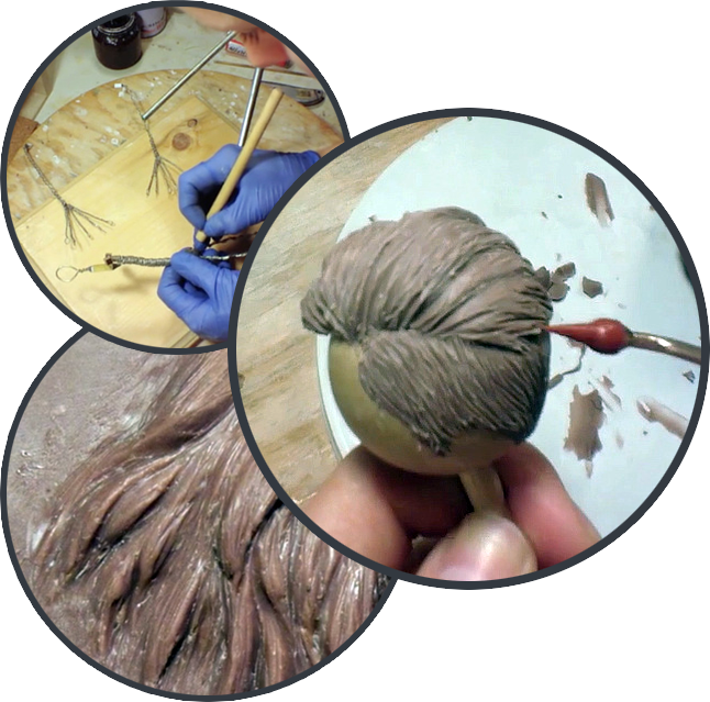 image of practicing sculpting