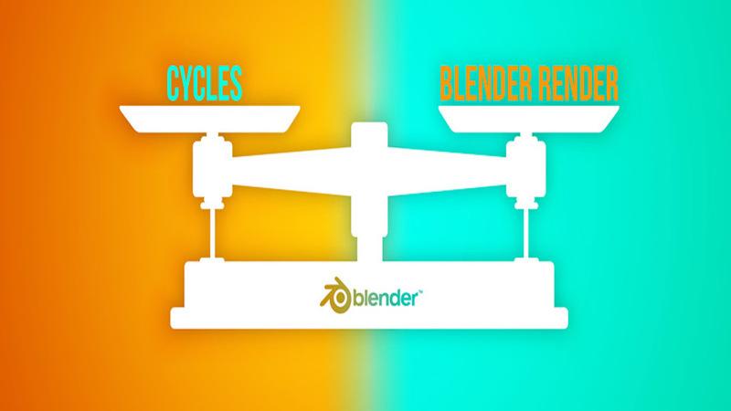 Big Idea: Blender Render VS Cycles