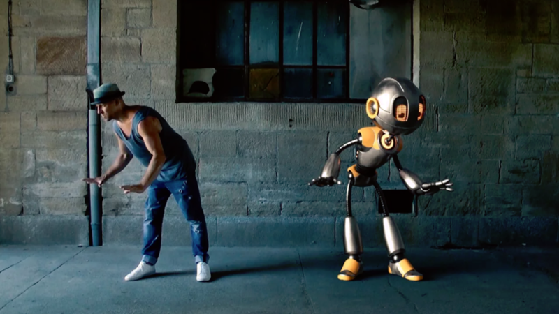 """""""I Did a Dance-Off With a Robot!"""""""