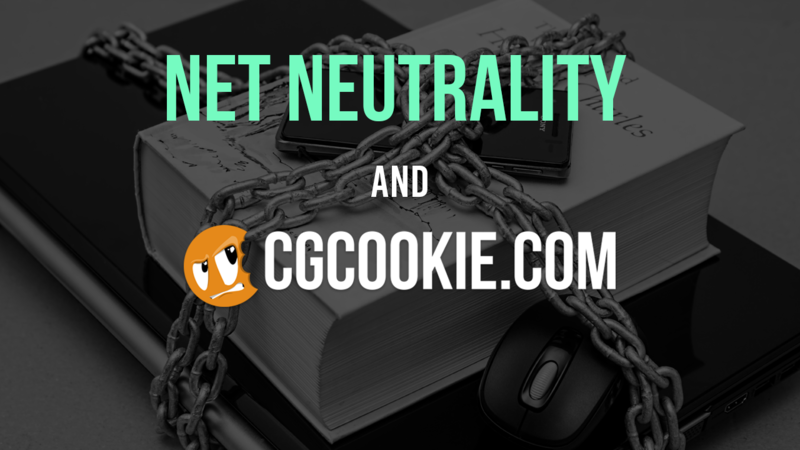 Net Neutrality and CG Cookie