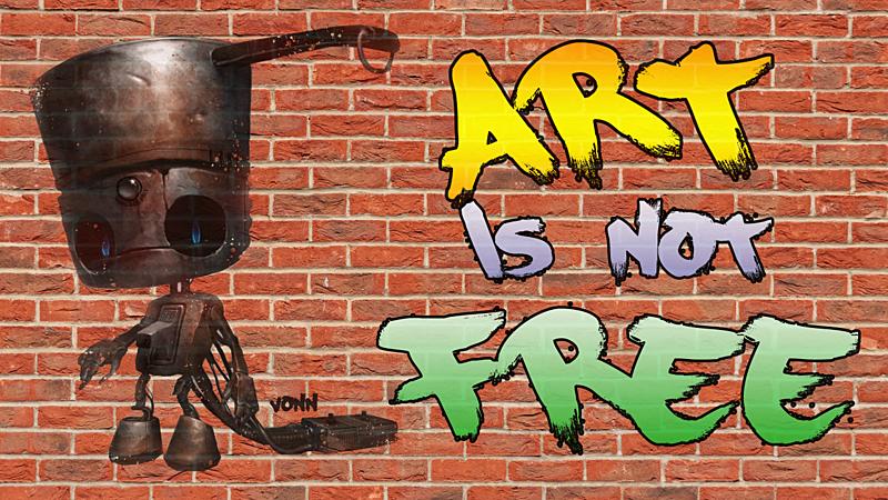 Art is Not Free