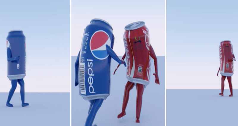 Coke vs Pepsi: High School Students Win with a Blender Short