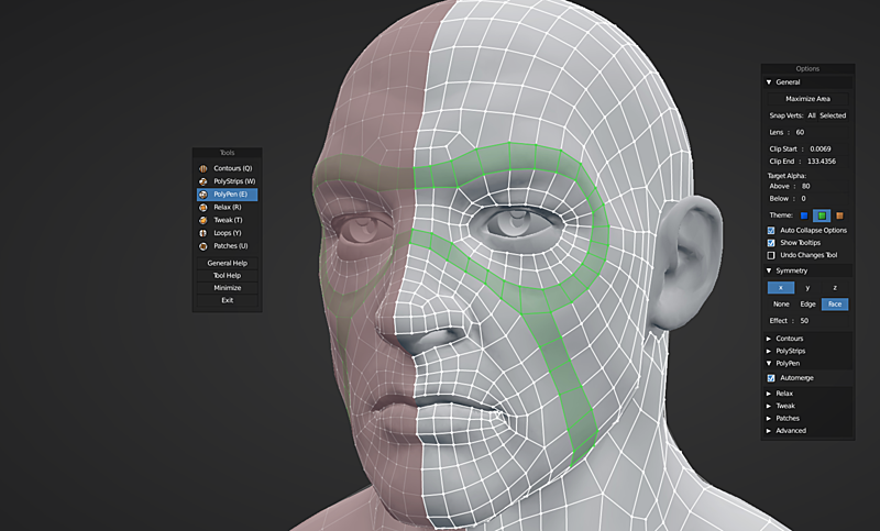 RetopoFlow 2.0: Rebuilding a Blender Add-On From Scratch