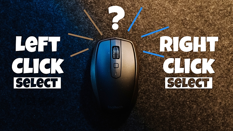 Blender's Right Click vs Left Click: Which is Better?