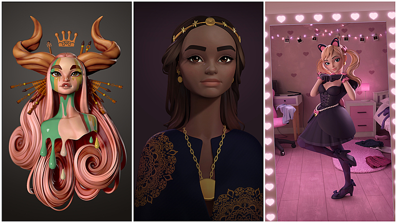 """Character artist Danny Mac: """"Once I switched to Blender, I fell in love"""""""