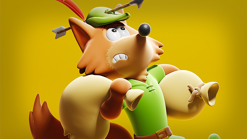 Texturing and Rendering a Cute Robin Hood 3D Character in Blender 2.81