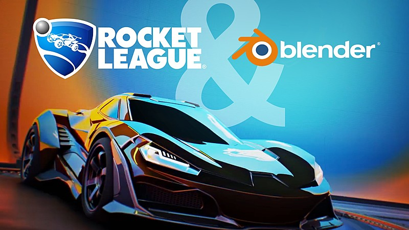 How Rocket League Artists Use Blender for Game Production
