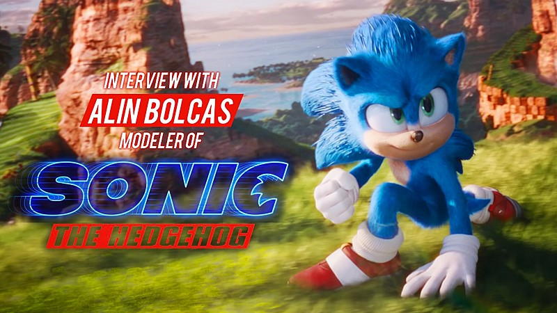 From Blender to Modeling Sonic the Hedgehog: Interview with Alin Bolcas