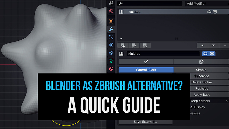 Should I Use Blender or ZBrush? A Quick Guide Comparison