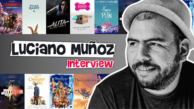 "Blender Animator Luciano Muñoz: ""Every artist has self doubt."""