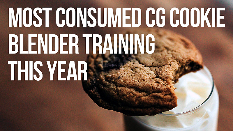 Most Watched Blender Tutorials So Far This Year on CG Cookie