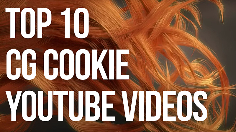 Our Top 10 CG Cookie Blender YouTube Videos