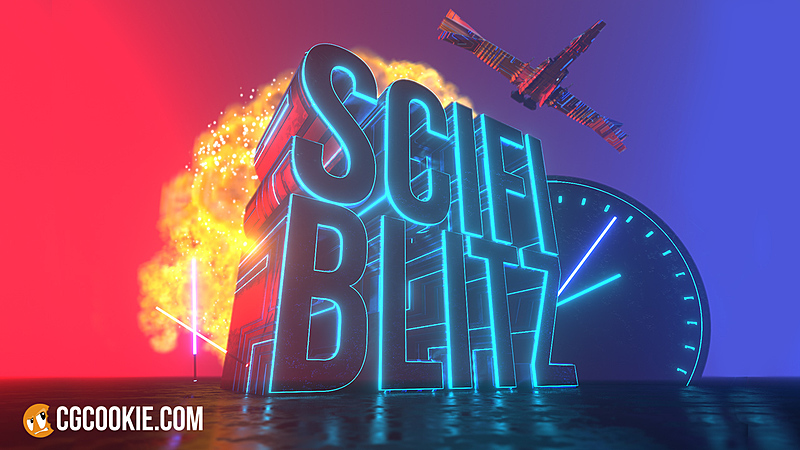 Blender Sci-Fi Blitz is a new YouTube Live Show