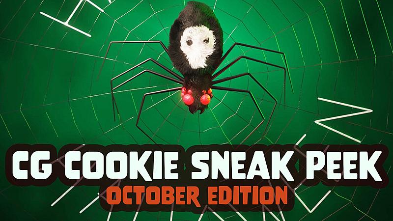 It's Blender Halloween! October at CG Cookie