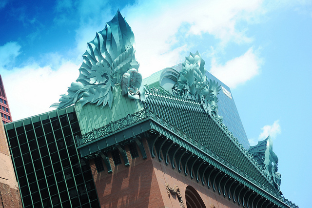 Visiting the Harold Washington Library