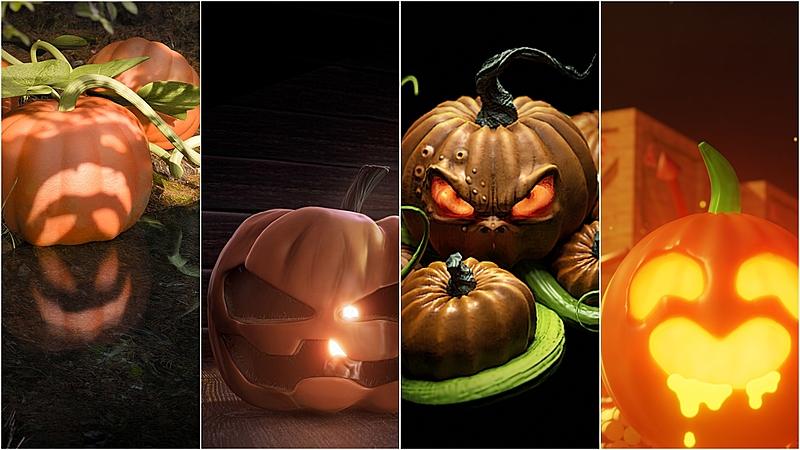 Winners of our Blender Pumpkin Challenge