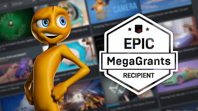 CG Cookie was awarded an Epic MegaGrant, get ready for Unreal-tasting cookies!