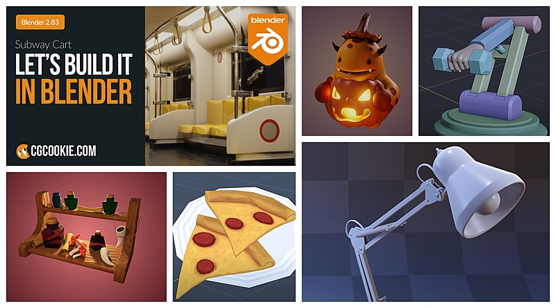 9 Simple Blender Projects for Beginners