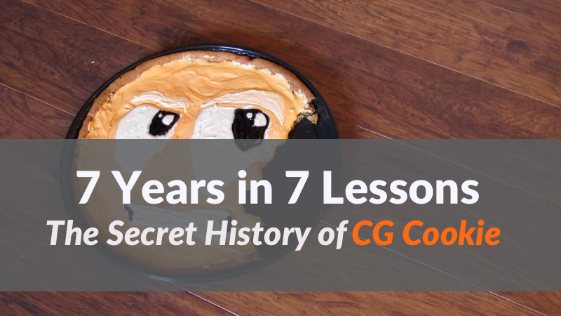 The Story of CG Cookie