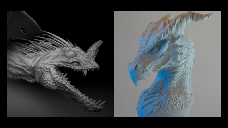 Digital vs. Traditional Sculpting