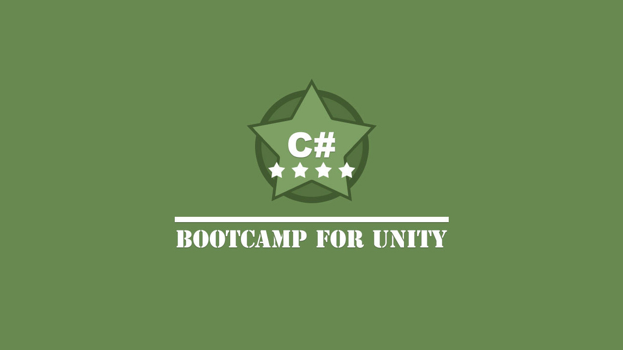 C# Bootcamp for Unity - CG Cookie