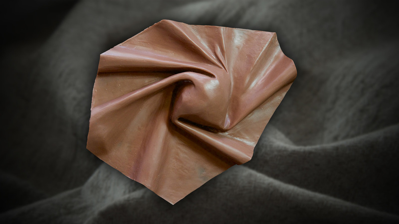 Sculpting Fabric in Clay