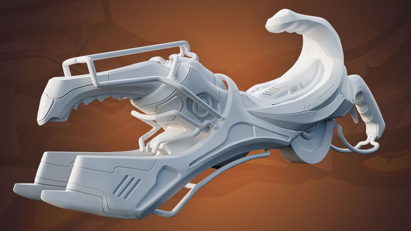 Hard Surface Sculpting and Retopology
