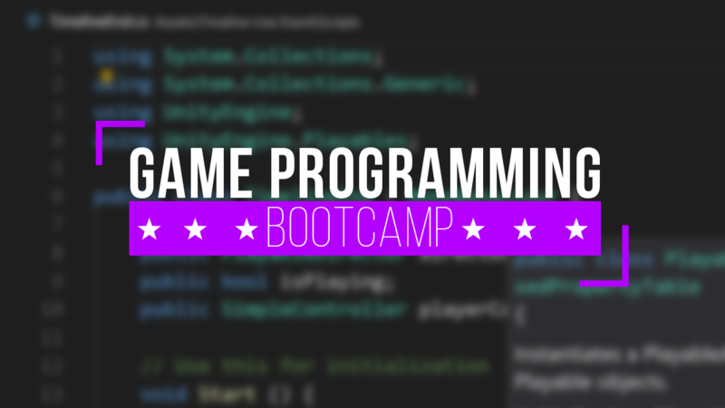 Game C# Programming Bootcamp