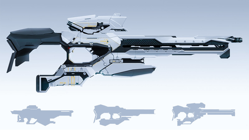 Designing Sci-fi Weapons for Production