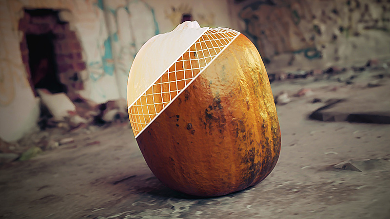 Creating a Realistic 3D Photo Scanned Pumpkin