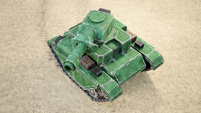 Creating Mini Tanks for a Mobile Game