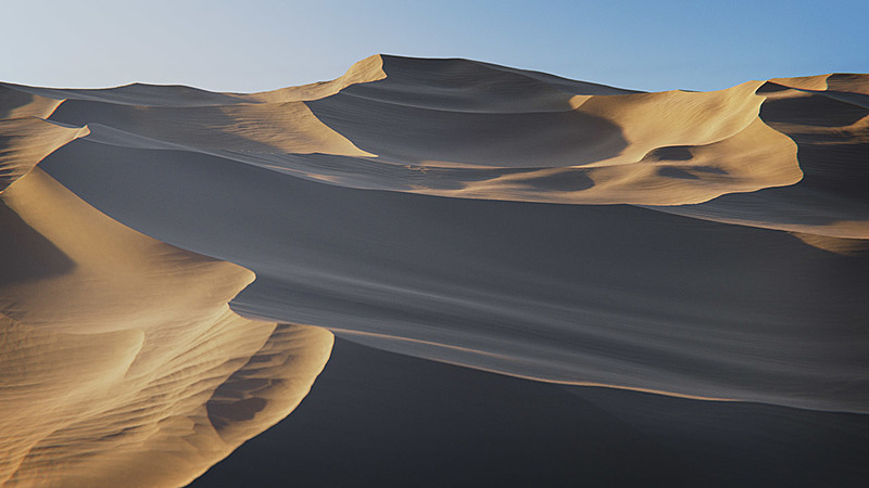 Creating Procedural Sand Dunes with Blender 2.8