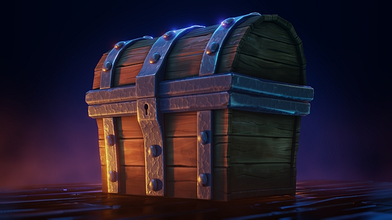 Modeling, Texturing and Shading a Treasure Chest in Blender 2.8