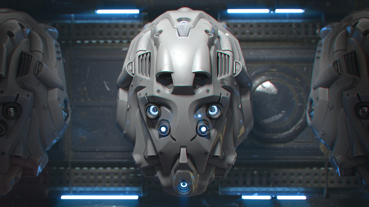 Modeling a Sci-Fi Helmet in Blender - CG Cookie
