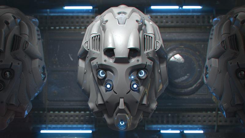 Modeling a Sci-Fi Helmet