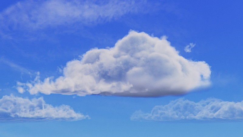 Creating Clouds with Blender 2.8 and Eevee