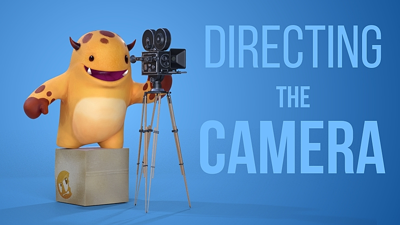Directing The Camera in Blender