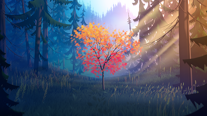 Creating a Stylized 3d Forest Environment with Blender 2.9