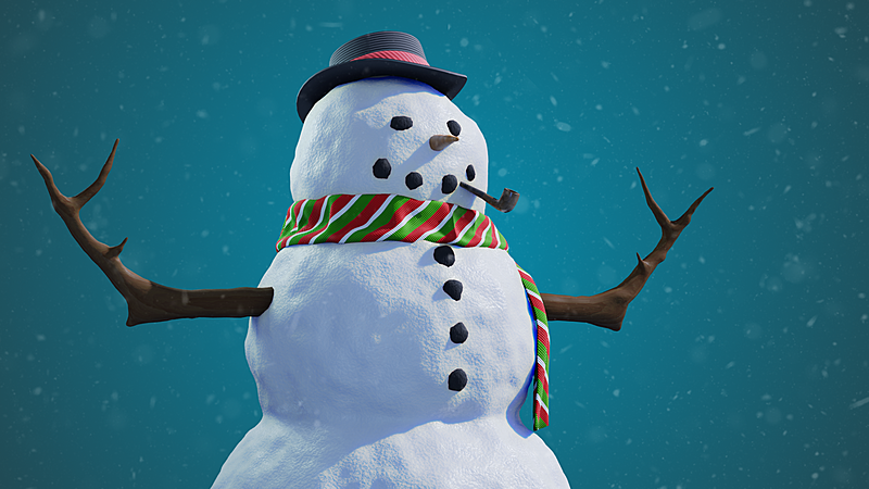 Let's build a snowman in Blender