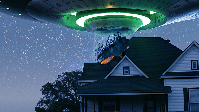 Create a VFX shot in Blender: Alien Abduction
