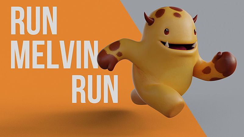 Make Your Blender Character Run: How to Animate a Run Cycle
