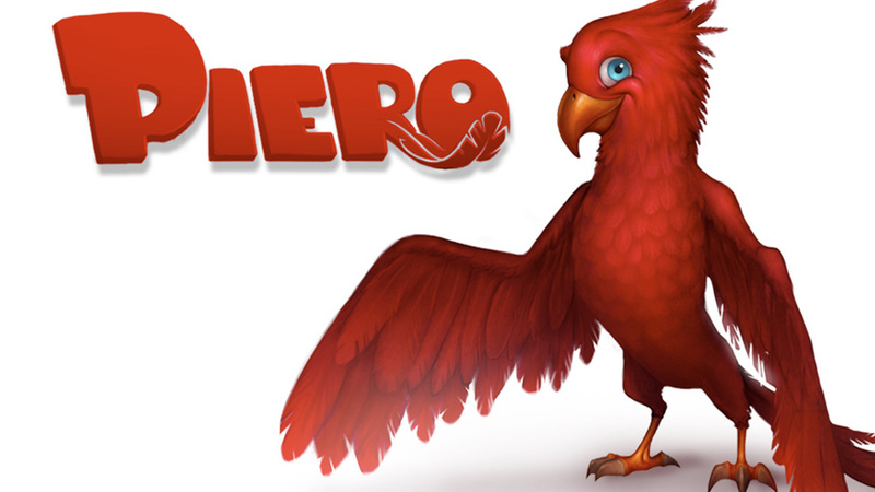 Piero - Animated Character Concept