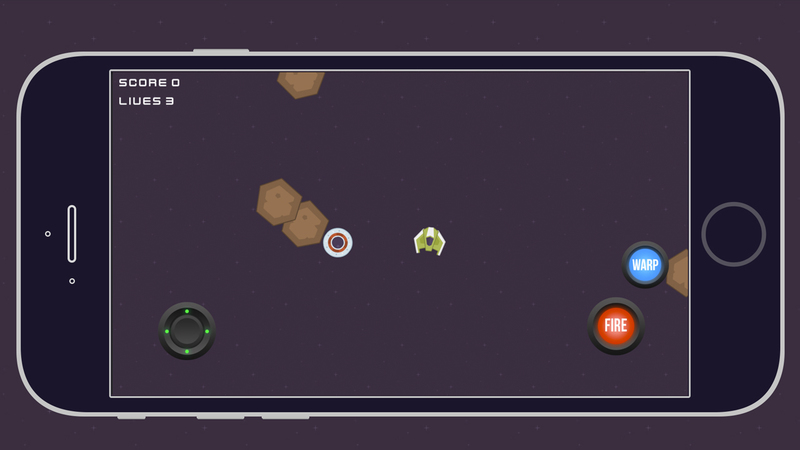 Mobile 2D Space Shooter