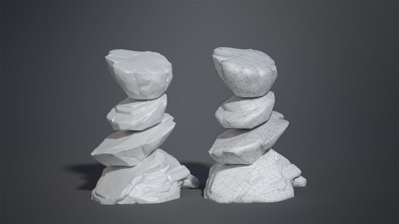 Modeling Video Game Assets in Blender