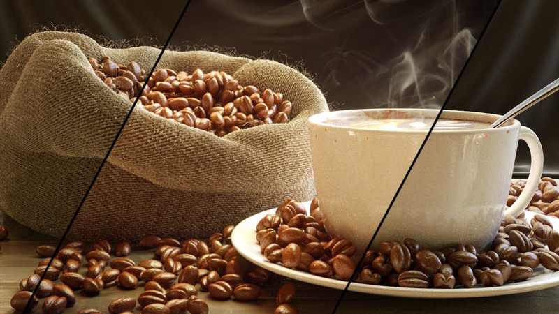 Compositing a Coffee Scene