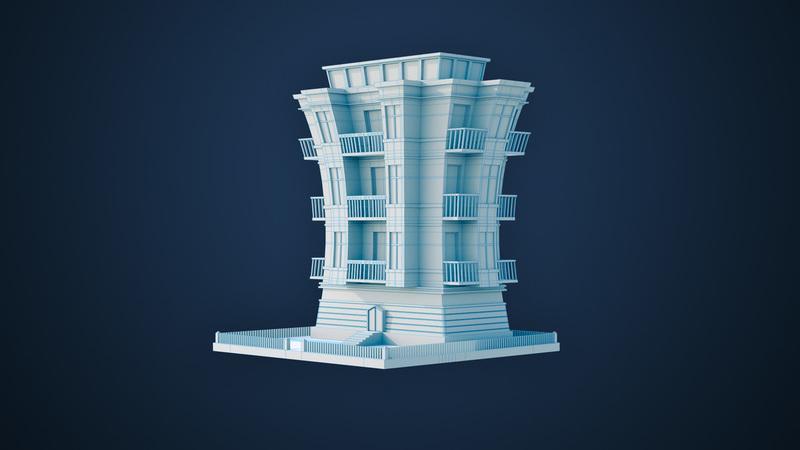 Modeling a Stylized Building
