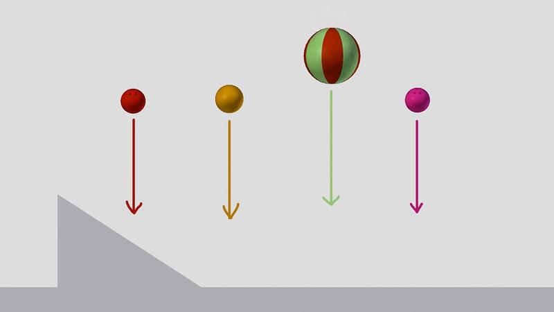 Complex Obstacle Drop