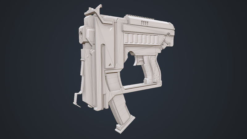 Model a First Person Weapon