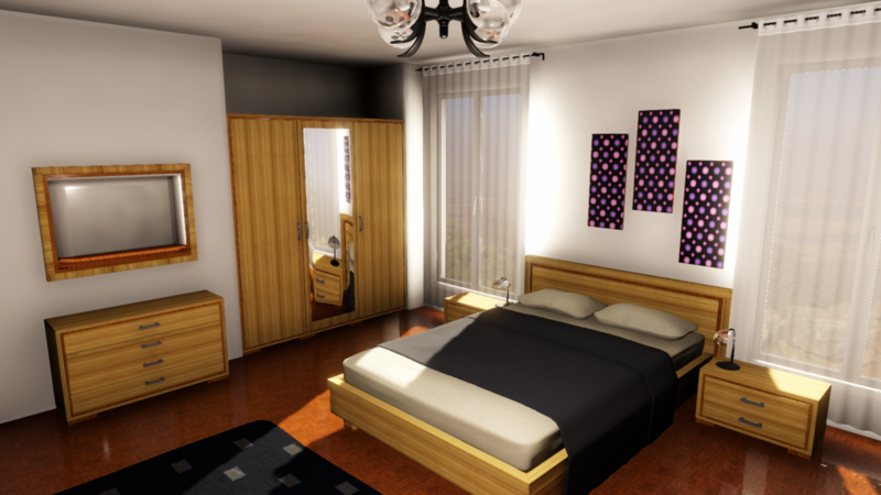 Lighting a Bedroom in Unity