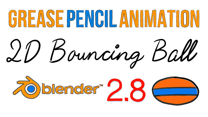 Animate a 2D Bouncing Ball with Grease Pencil